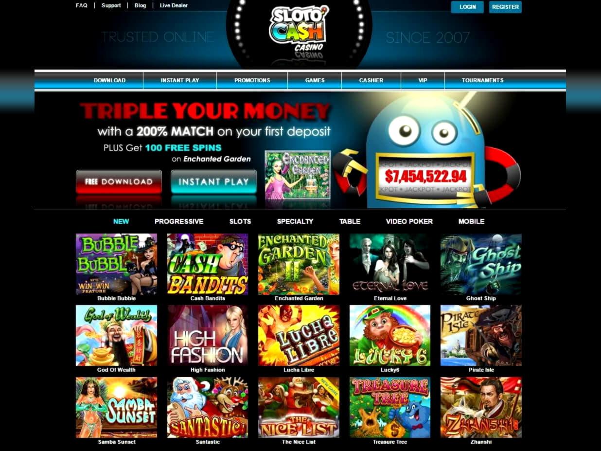 170% First deposit bonus at Lucky Nugget Casino