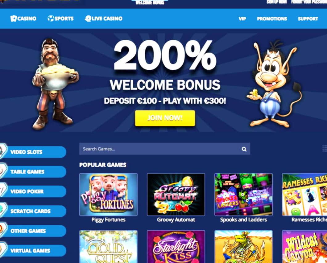 910% Match Bonus at Casino com