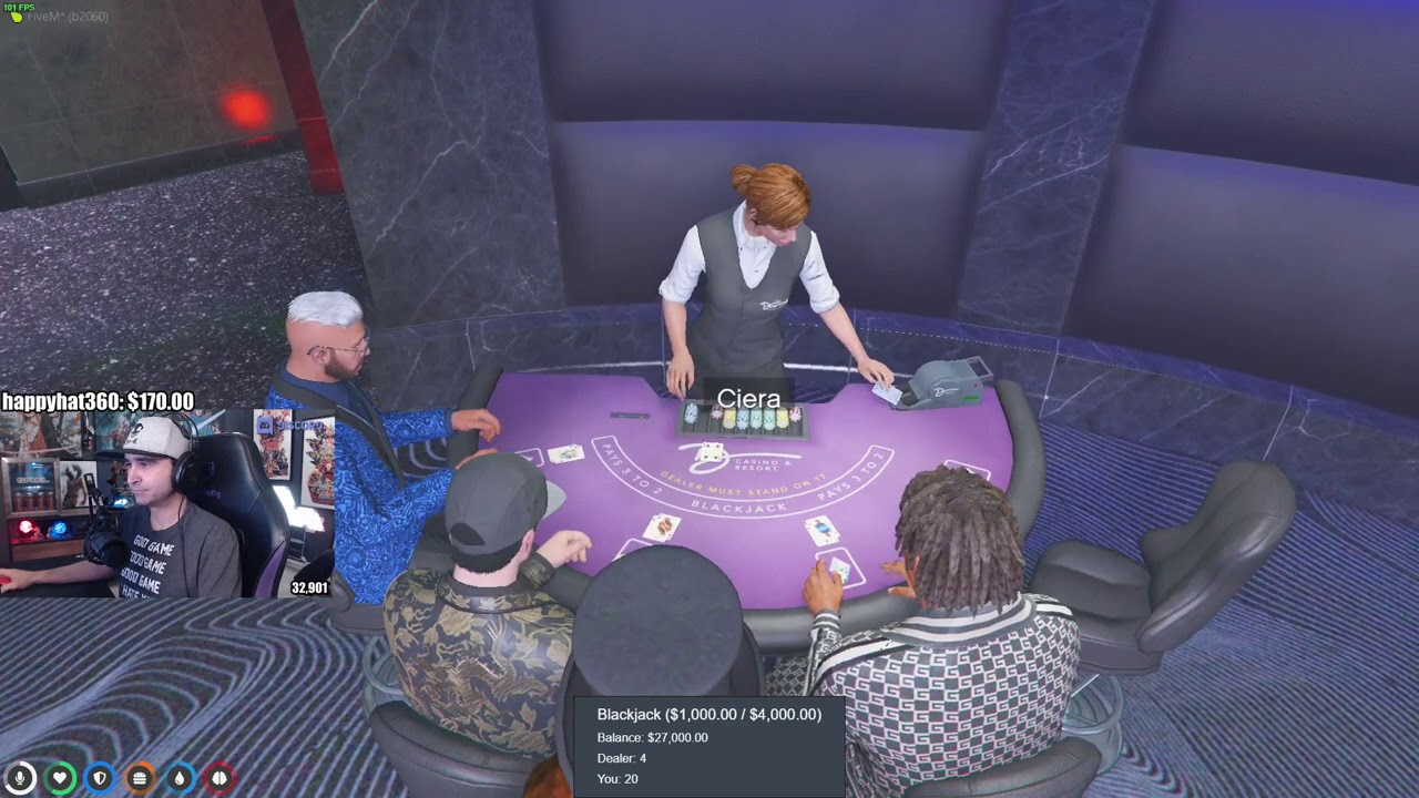Charles Hits the High Roller Table with Taco, Rolls Dice vs Mel & Talks to Hutch about Race Tracks