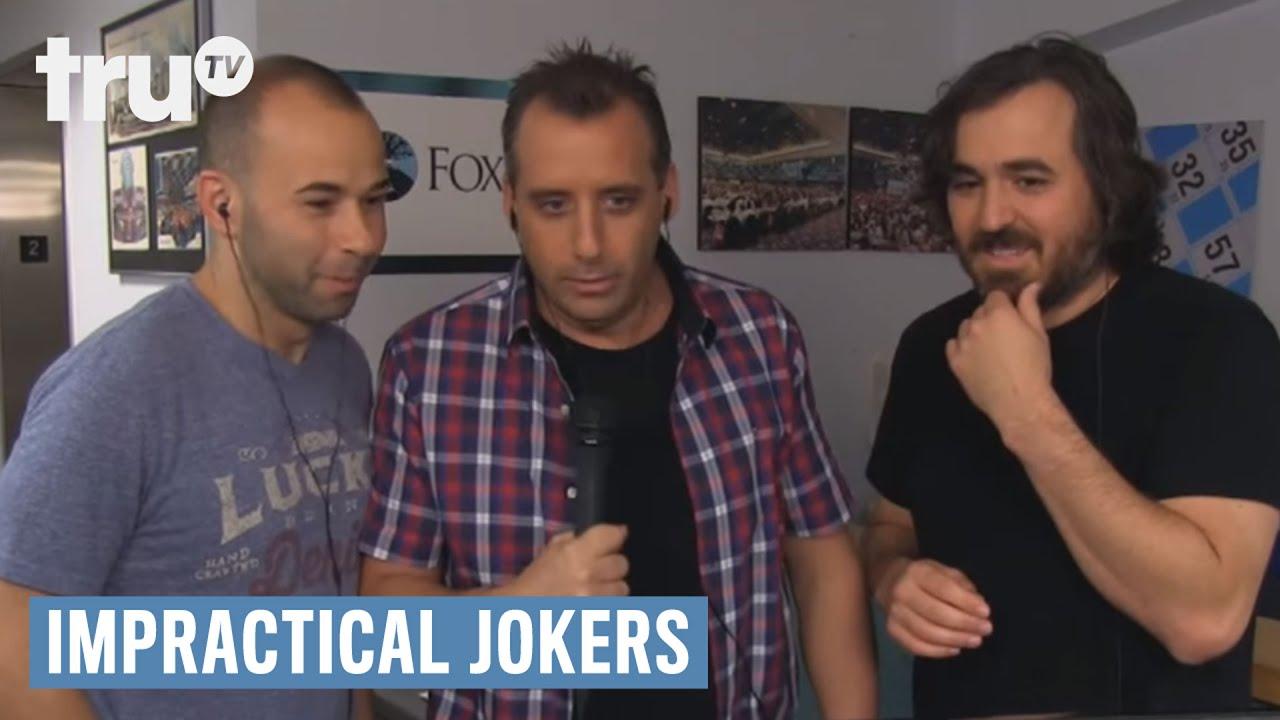 Impractical Jokers - Bingo Legend Removed By Security (Punishment) | truTV