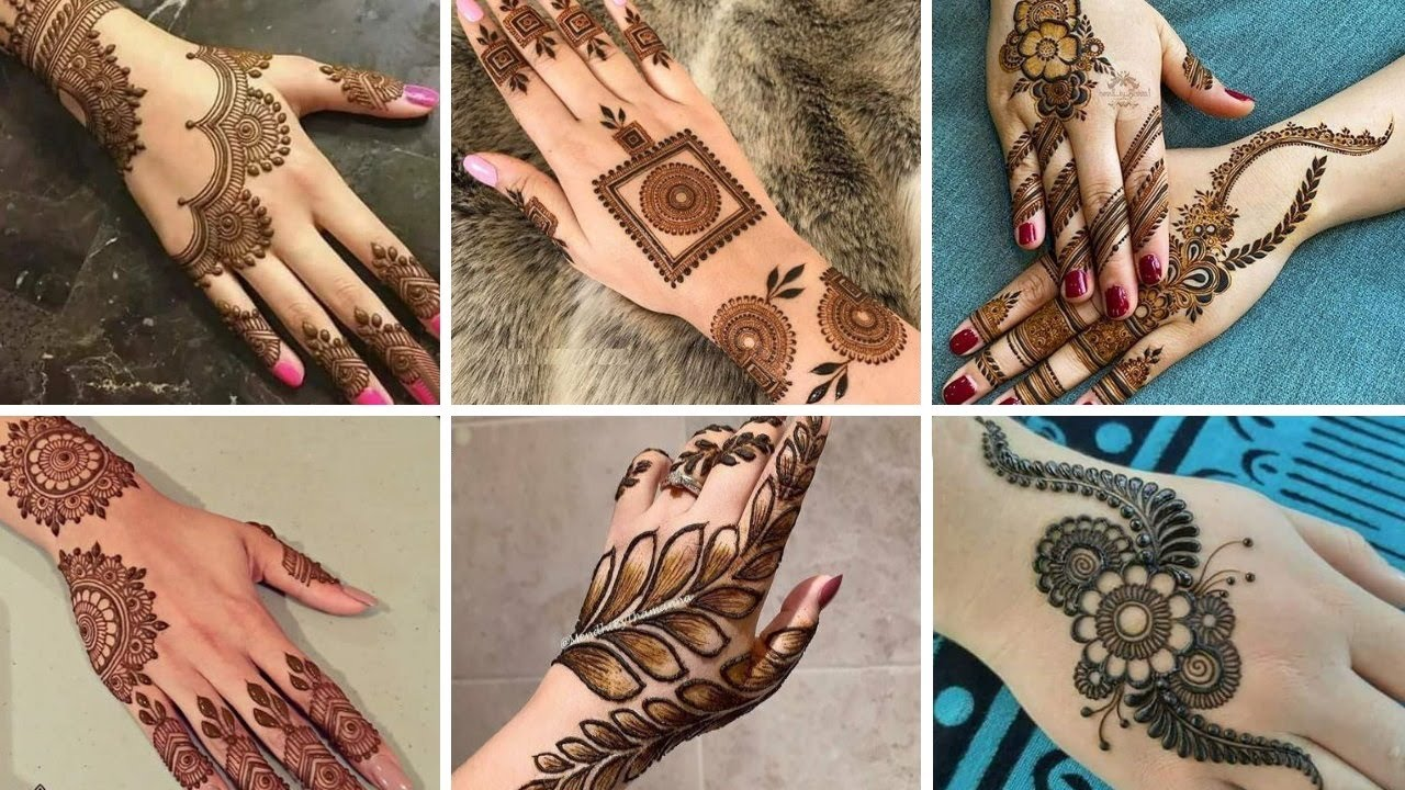 Top Trendy & Creative Henna Designs    Easy Arabic & Beginner Mehndi design.