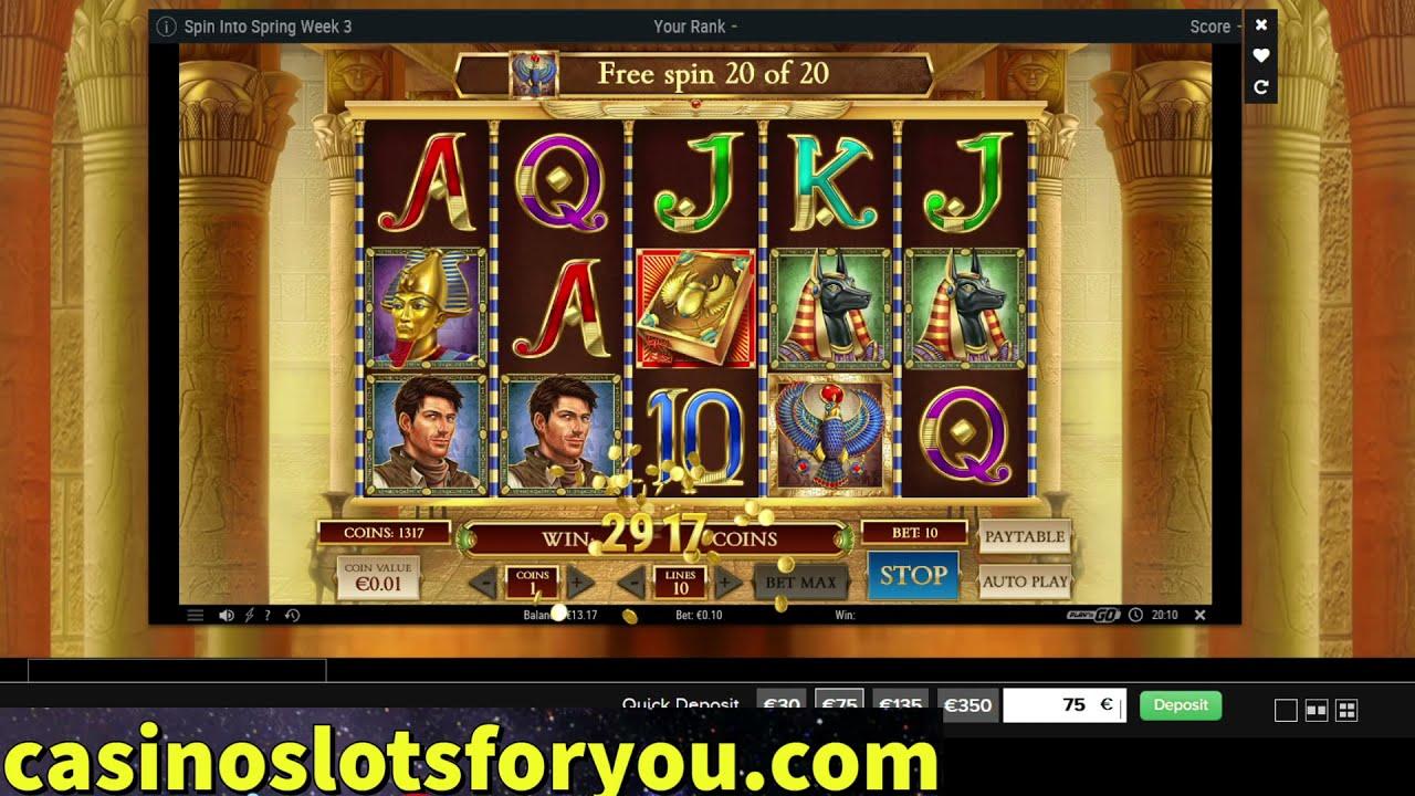 Book of Dead, Online Casino Slots