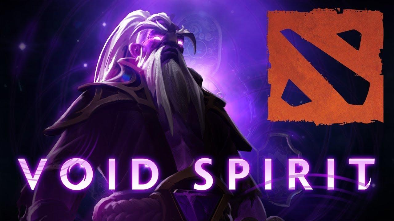 Dota 2 Void Spirit Cinematic Trailer Internet Game