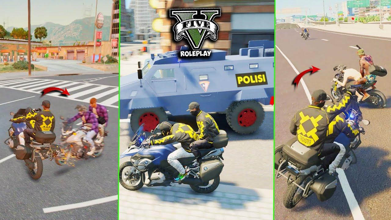 TRICKSTER VS EVERYBODY !! KEMUNCULAN FRAKSI BARU !? - GTA V ROLEPLAY INDONESIA